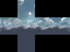 An example skybox texture.