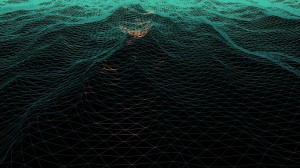 A screen capture of the surface mesh.