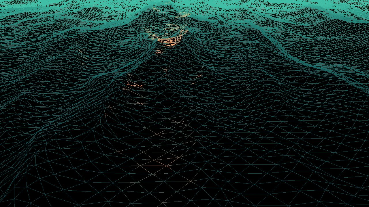 Ocean simulation part two: using the fast Fourier transform